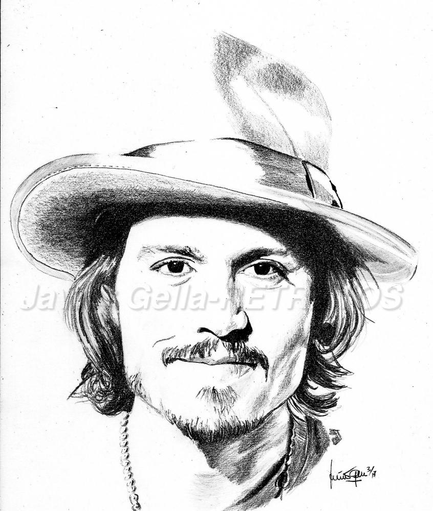 Johnny Depp by JumpingJack